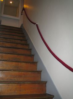 diy stair rail... I must do this