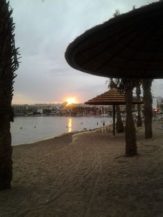 Sunset, Eilat, Israel.