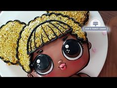How to make a Queen Bee L.L doll cake (Lil Outrageous Littles) This cake tutorial is a collaboration with my Friend Haniela, be sure to check out the super. Doll Birthday Cake, Funny Birthday Cakes, Zoes Fancy Cakes, Lol Doll Cake, Bee Cakes, Bee Party, Doll Party, Chocolate Fondant, Little Cakes