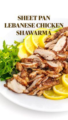 Meat Recipes, Chicken Recipes, Dinner Recipes, Cooking Recipes, Healthy Recipes, Salad Recipes, Schawarma Rezept, Shawarma Recipe, Lebanese Recipes