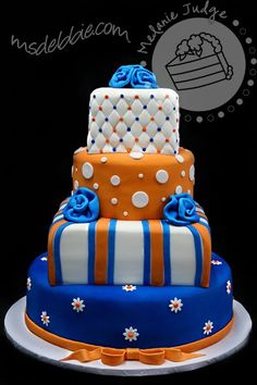 Cake Walk: Gators Graduation Cake