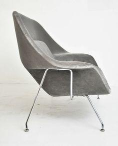 Eero Saarinen Womb Settee for Knoll   1stdibs.com