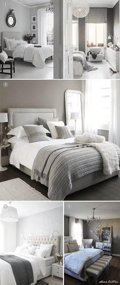 21 Stunning Grey And Silver Bedroom Ideas U003e CherryCherryBeauty.com | Bedroom  Ideas | Pinterest | Silver Bedroom, Bedrooms And 21st