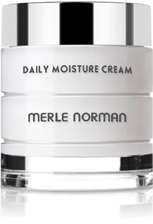 Daily Moisture Cream  For Dry skin types.   Luxurious, lightweight cream provides deep moisturization and comfort. Advanced formula locks in moisture to help plump away fine, dry lines. Exclusive Merle Norman Bio Moisture Complex™ — a special blend of emollients and humectants — binds moisture to the skin for intense, prolonged hydration. Non-greasy. Non-acnegenic. Non-comedogenic.