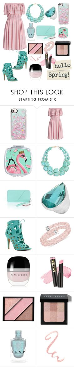 """Spring beauty"" by jumainakmir ❤ liked on Polyvore featuring Casetify, Chicwish, Natasha, Robert Lee Morris, ALDO, Swarovski, Marc Jacobs, L.A. Girl, Elizabeth Arden and Bobbi Brown Cosmetics"