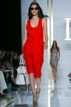 Diane von Furstenberg Spring 2014 RTW collection - *whistles* hotttt!
