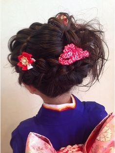 Kimono, Hairstyle, Fashion, Hair Job, Moda, Hair Style, Fashion Styles, Kimonos, Hair Looks