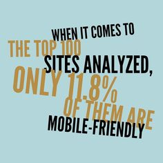 If your site is mobile-friendly then you're already ahead of your competitors. Having a website that's mobile-friendly and mixing that with SEO your competition is done-zo.