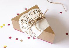 DIY Pie Wedge Box + Free Printable by Lavender's Blue