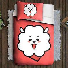 46b71d8785 Jogo de Cama Bts Jin Kpop BT21  bts  bt21  jin  kpop  decoração   decoraçãodecasa  tumblrgirl  fofos  fofinho  fofura