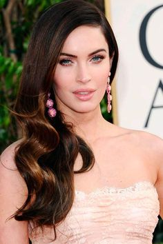 Gorgeous Curly Hairstyles For Those Special Days #MeganFox