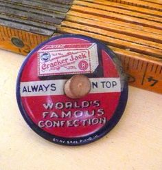 Add it to your favorites to revisit it later. Antique Cracker Jack Tin Lithograph Always On Top Spinner Antique Cracker Jack Tin Lithograph Always On Top Spinner Antique Toys, Vintage Toys, Cracker Jacks, Spinner Toy, Gumball Machine, Electronic Toys, Tiny Treasures, Tin Toys, Metal Tins