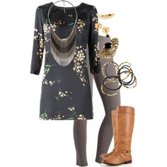 fall outfit favorite - everything but that necklace