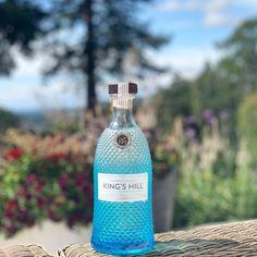 King's Hill gin blue diamond pattern bottle in front of landscape shot Blue Bottle, Vodka Bottle, Scottish Gin, Gin Tasting, What Katie Did, Gin Gifts, Gin Recipes, Gin Lovers, Diamond Pattern