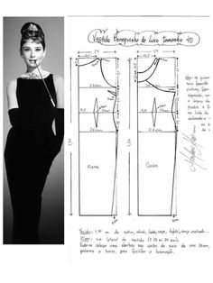 - Best Sewing Tips Easy Sewing Patterns, Vintage Sewing Patterns, Clothing Patterns, Dress Patterns, Sewing Clothes, Diy Clothes, Costura Fashion, Kleidung Design, Patron Vintage