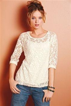 Lace Sweater #myaw13 #next