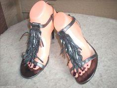 Michael Kors women sandals 10 M Metallic Heel #MichaelKors #Strappy #SpecialOccasion
