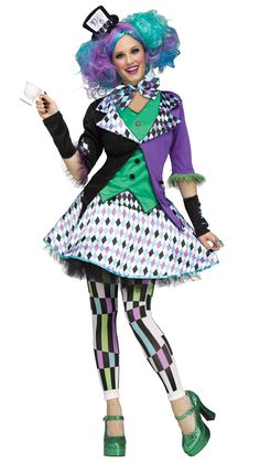 dedeb1d53c49 Women Mad Hatter Costume Mad Hatter Halloween Costume, Mad Hatter Costumes, Halloween  Costume Contest