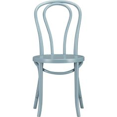 Vienna Sky Side Chair in Dining Chairs | Crate and Barrel