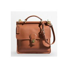 Coach Willis Bag found on Polyvore featuring polyvore, fashion, bags, handbags, brown purse, brown bag and brown handbags