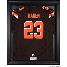 80885175c07 Cleveland Browns Fanatics Authentic Brown Framed Logo Jersey Display Case
