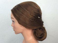 Bridal hair by www.cassie-makeupartist.de