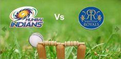 Mumbai Indians Vs Rajasthan Royals  on April 17 match 23
