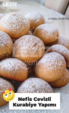 Bun Pins, Delicious Desserts, Hamburger, Food Porn, Food And Drink, Bread, Cookies, Cake, Walnut Cookies