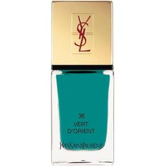 Yves Saint Laurent La Laque Couture lasting nail polish (65 BRL) ❤ liked on Polyvore featuring beauty products, nail care, nail polish, yves saint laurent and yves saint-laurent nail polish