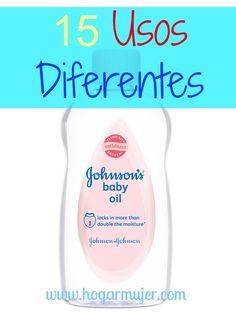 Descubre 15 usos alternativos para el aceite de bebé que no conocías. Además aprende como hacer tu propio aceite natural en casa