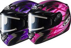 2013 HJC CS-R2 Storm Electric Women's Snowmobile Helmets