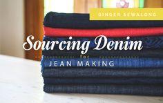 Ginger Jeans Sewalong: Sourcing Denim