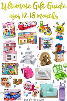 Gift Ideas For One Year Olds And Toddlers Baby Guide