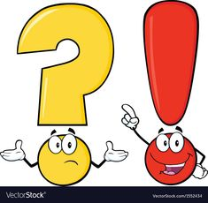 Find Question Mark Exclamation Mark Cartoon Characters stock images in HD and millions of other royalty-free stock photos, illustrations and vectors in the Shutterstock collection. Thousands of new, high-quality pictures added every day.