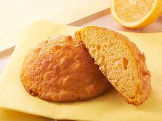 焦がしバターのオレンジメロンパン