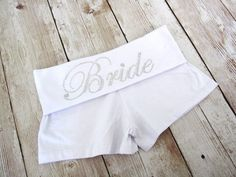 Yoga Bride Shorts. Rhinestone Wedding Shorts. Honeymoon. Lingerie Booty Short Panties. Wifey Shorts