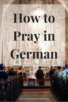 Learn German, Pray in German, How to Pray in German