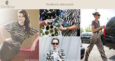 Amamos animal print de zebra. A estampa queirinha deixa qualquer visual descontraído e chic!