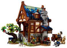 Lego Super Mario, Lego Technic, Boutique Lego, Zen, Light Brick, Medieval Fortress, La Forge, Monster Book Of Monsters, Lego Castle