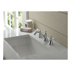 35713LF-ECO - Two Handle Widespread Lavatory Faucet