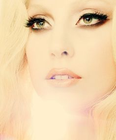 Lady Gaga looking absolutely angelic.