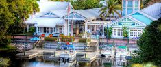 Walt Disney World Old Key West Resort. This cool Disney resort is located right next to Epcot and Hollywood Studios!