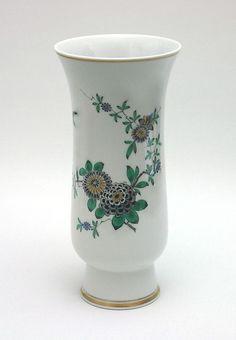 Meissen Vase Indischmalerei 25cm