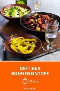 Deftiger Bohneneintopf - smarter - Zeit: 35 Min. | eatsmarter.de