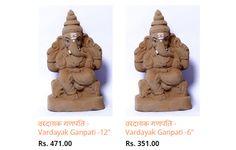 Buy 100% Eco Friendly Vardayak #Ganpati #Idols. Buy now   #ecofriendly #Ganesha #Lord