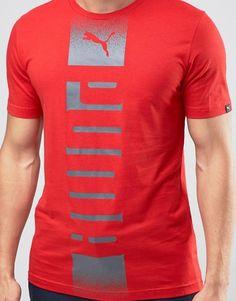 Puma   Puma Rebel T-Shirt In Red 83835609