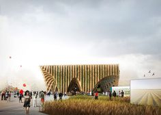 pavilion representing France at the World Expo 2015 in Milan,  XTU Architects