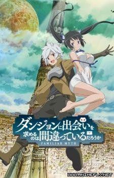 Dungeon ni Deai wo Motomeru no wa Machigatteiru Darou ka Online - AnimeFLV