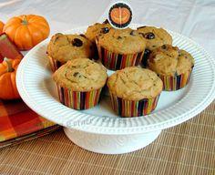 Delicious pumpkin chocolate chip muffins.