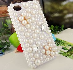 Flowers case iPhone 5 Case iPhone 4/4s Case Bling by dnnayding, $31.99